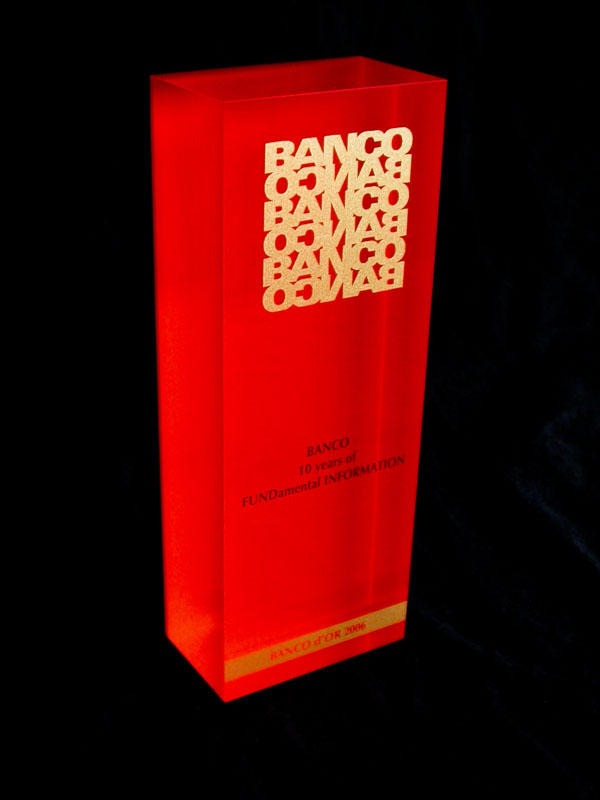 Trophée « Banco d'or »