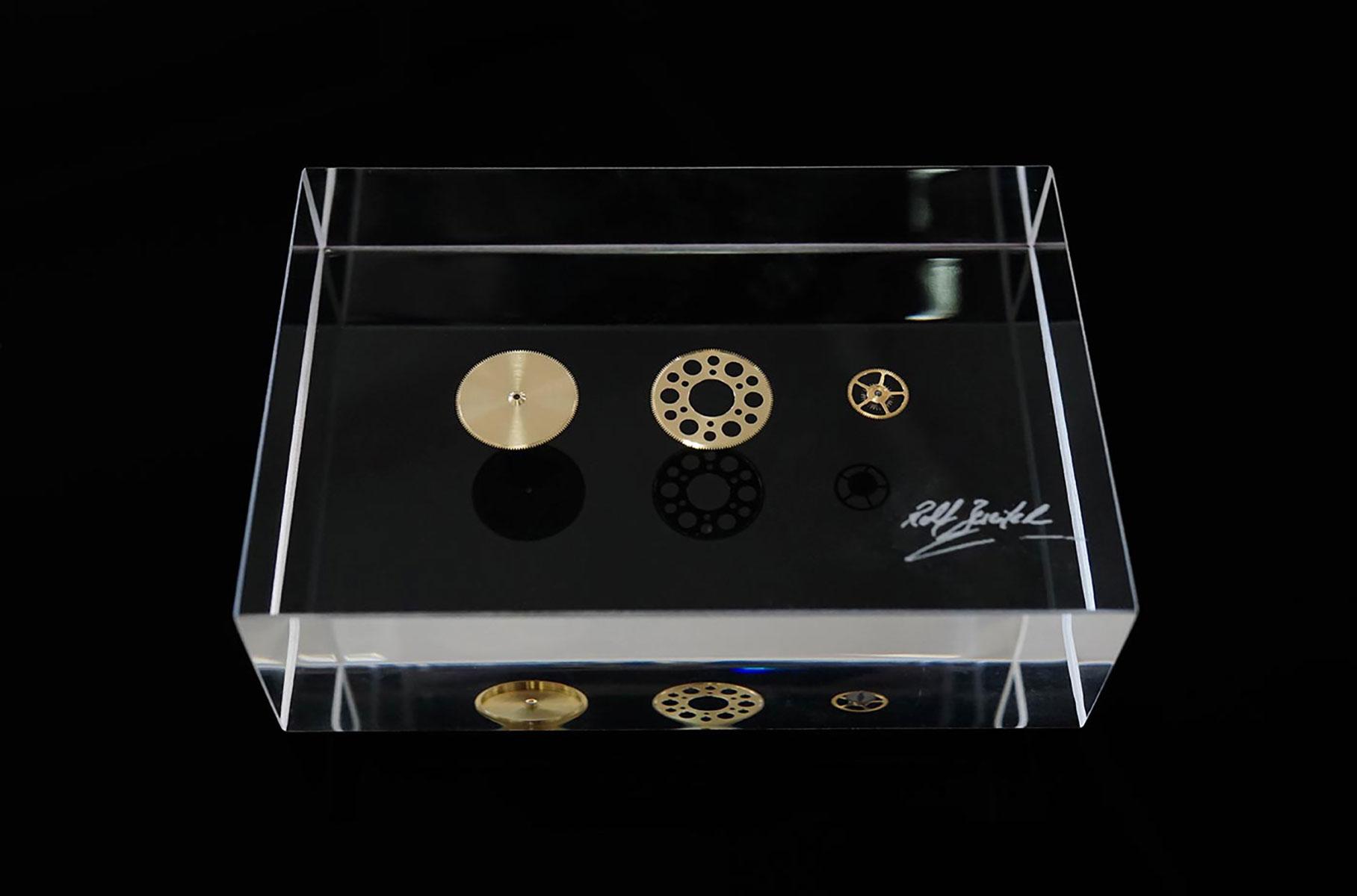 Echantillons de pièces horlogères