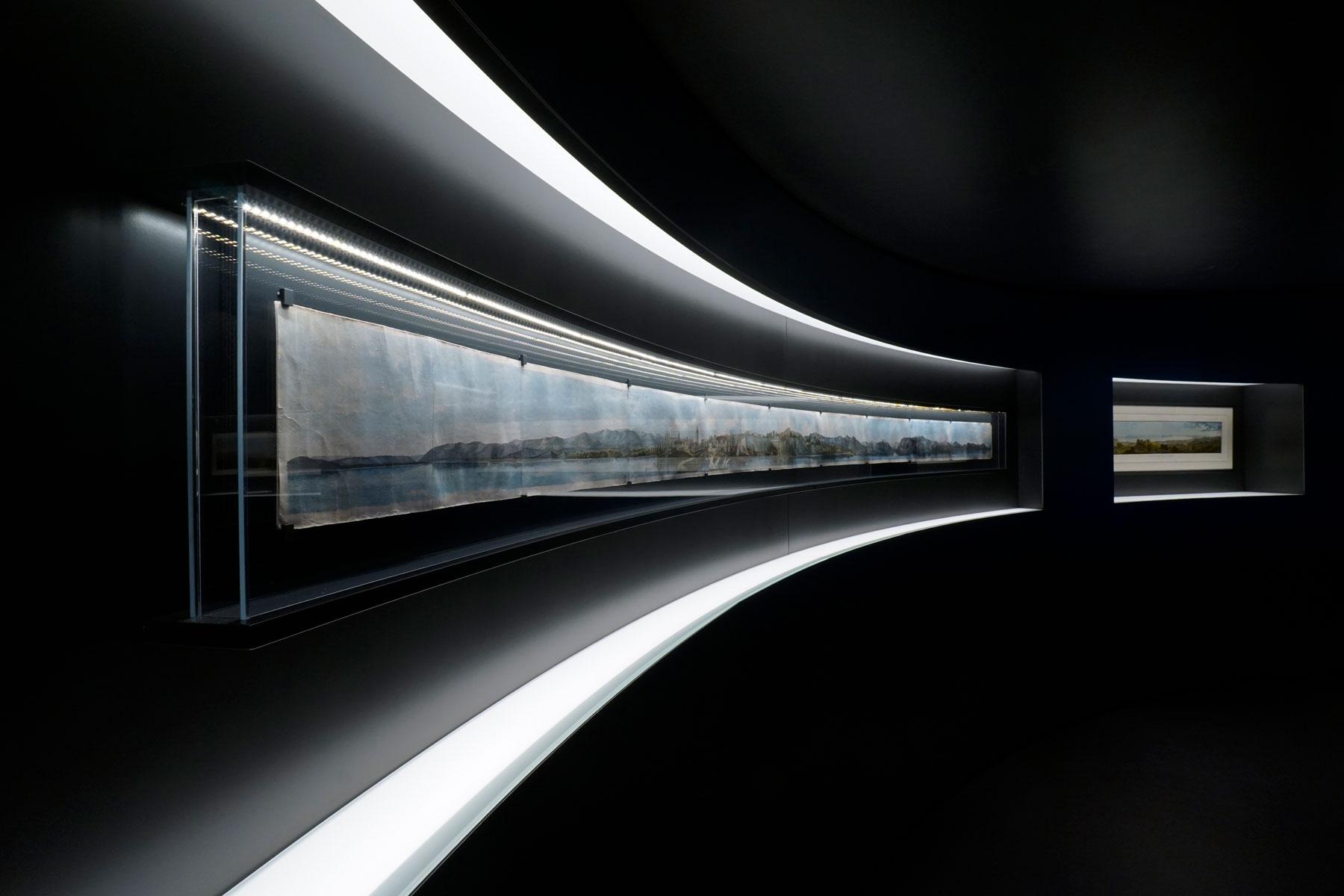 Vitrine du Musée Historique de Lausanne